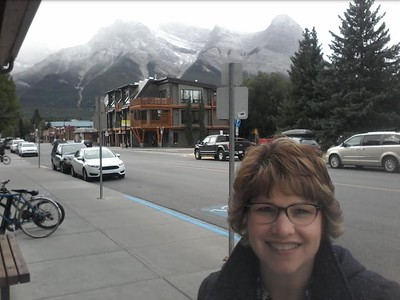 Downtown Canmore, Alberta Canada - September 20, 2017