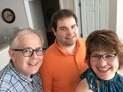 John, John R and Fran - June 3, 2018