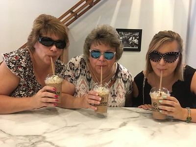 Fran, Margie and Elizabeth - July 19, 2018