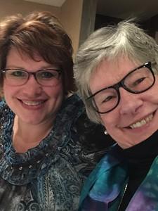 Aunt Lou and  I -- January 2017