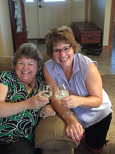 Margie and Fran - July 18, 2018
