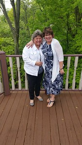 Sisters on Mother's Day - May 2017