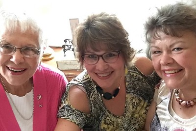 Mom, Margie and I - September 7, 2018