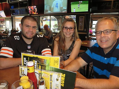 BW3 in St. Clair Shores, MI - June 8, 2014 - 21st birthday dinner