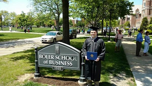 JCU Graduation -- Boler School of Business -- May 22, 2016