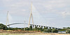 This the fifth largest cable stayed bridge in the world.