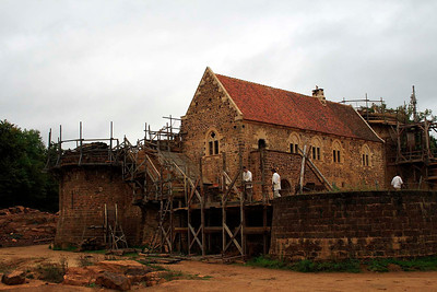 Medieval Castle at Guedelon
