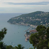 A scenic overlook on our drive from Nice to Eze.