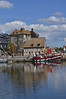 Vieux Bassin in Honfleur, popular and scenic hangout