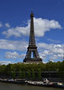 La Tour Eiffel with a perfect sky