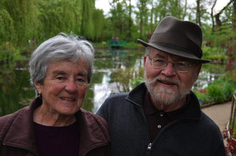 Us at Giverny