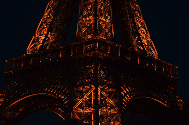Structural study of the Eiffel tower.