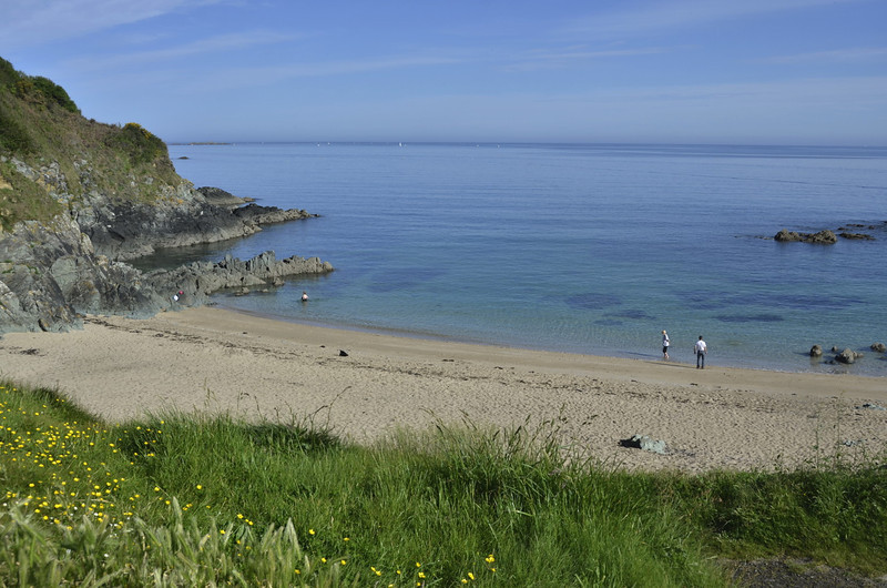 Nice beach near St-Michel en Greve