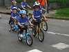 Participants in the Petit Tour de France - determination