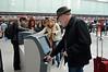 David negotiates automated checkin at SFO
