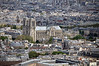 Notre Dame viewed from Tour Montparnasse