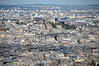 Sacre Coeur viewed from Tour Montparnasse