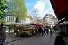 Lower end of rue Mouffetard in Square Medard (two blocks from 10 rue Broca)