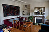 The living room at 10 rue Broca