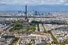 Tour Eiffel viewed from Tour Montparnasse