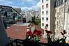 View from bedroom window at 10 rue Broca