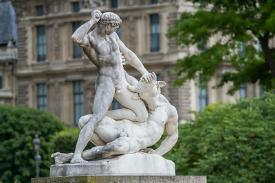 at the Tuileries 2