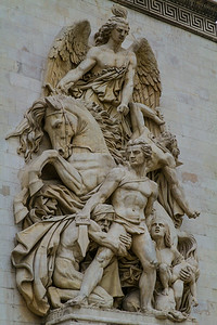 Arc de Triomphe sculpture