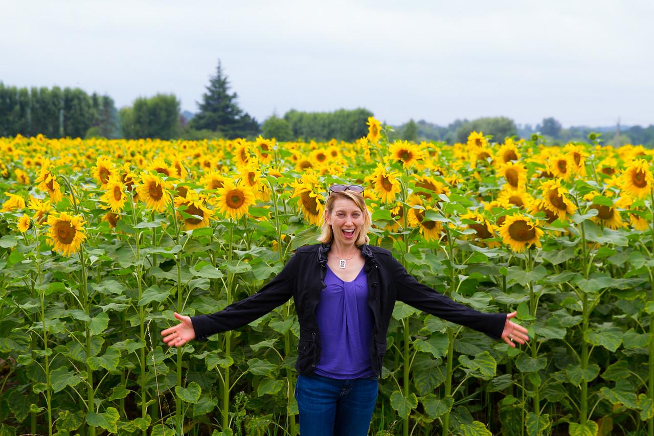 Corey w Sunflower