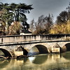Bridge near Chateau Ussa