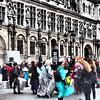 Paris City Hall Demonstrators