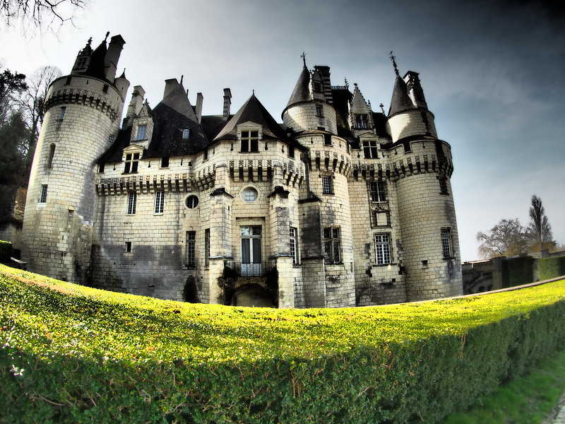 Chateau Ussa, France