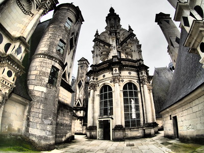 Chambord Chateau, France