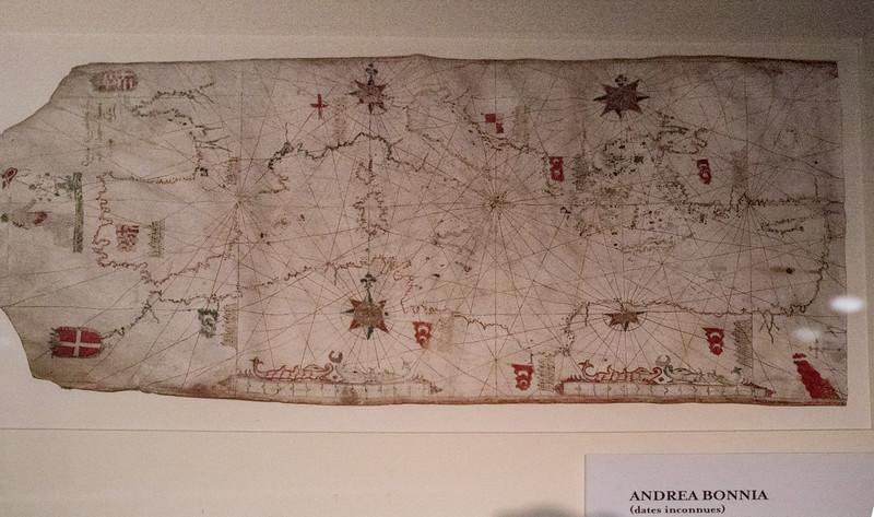 Ancient Mediteranean map