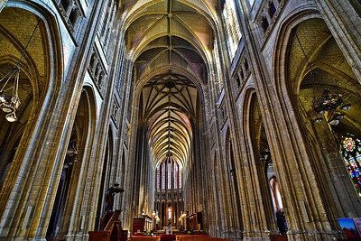 Cathédrale Sainte-Croix d'Orléans Ceiling