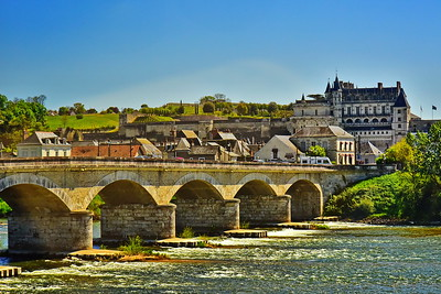 Chateau de Amboise on the Loire River