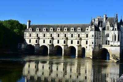 Chateau de Chenonceau Reflection