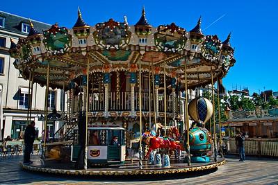 Carousel in Orleans, France