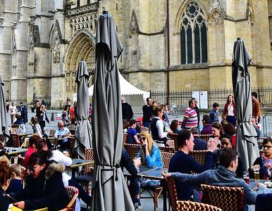 Bordeaux:  Cathedrale Sainte Andre