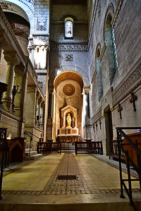 Side Hallway in the Cathedral
