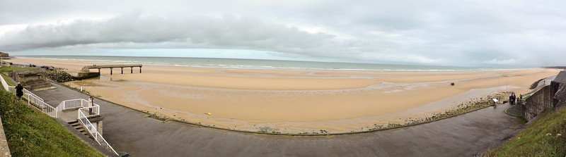 Omaha Beach panorama