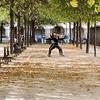 Working out, Place des Vosges