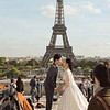 Tour Eiffel wedding
