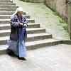 Nun in abbey