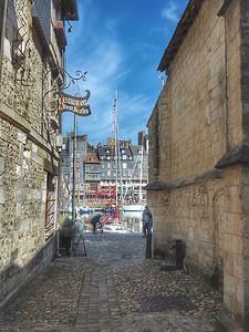 Ancient Alleyway.