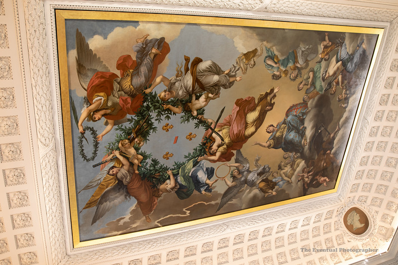 Dijon Musee Beaux Arts The Ceiling (3088) Marked