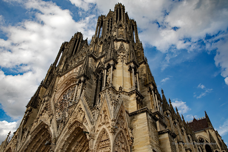 Reims Cathedral Notre Dame de Reims Lower Wide (2915) Marked