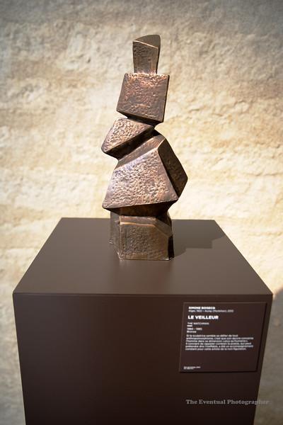 Dijon Musee Beaux Arts La Veilleur (3113) Marked