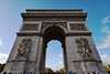 Paris Arc De Triomphe View #2 (6976) Marked