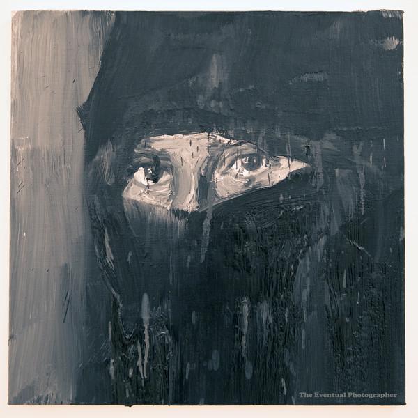 Dijon Musee Beaux Arts Yan Pei-Ming Eyes #1 (3062) Marked