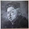 Dijon Musee Beaux Arts Yan Pei-Ming Kim Jong (3074) Marked